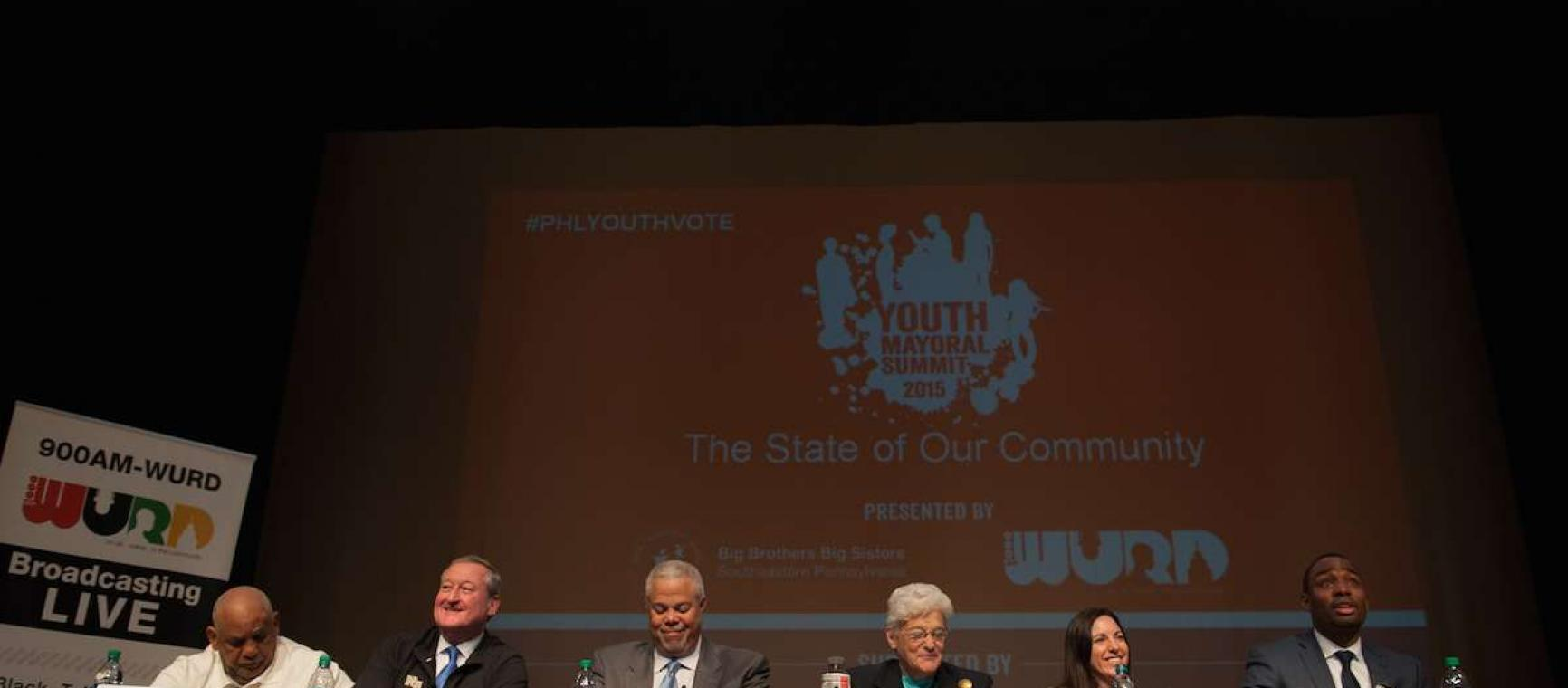 Youth Mayoral Summit; Philadelphia, PA